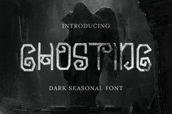 Ghosting Font Product Image 1
