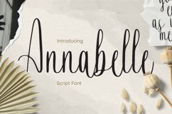 Annabelle Font Product Image 1