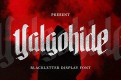 Yalgohide Font Product Image 1