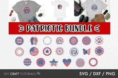 4th of July SVG, Independence Day SVG, Patriotic SVG Product Image 1