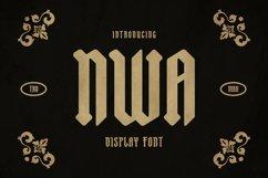 NWA Font Product Image 1