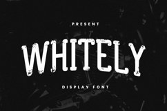Whitley Font Product Image 1