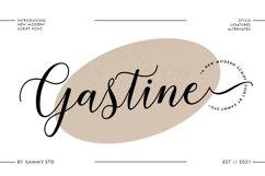 Gastine Script Product Image 1