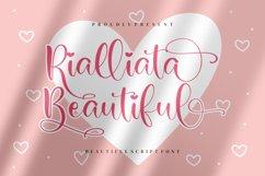 Rialliata Beautiful Beautiful Script Font Product Image 1