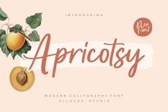Apricotsy Font Product Image 1