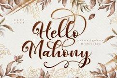 Hello Mahony Script Product Image 1