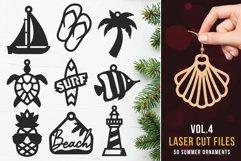 Laser Cut Files Vol.4 - 50 Summer Ornaments Bundle Product Image 1