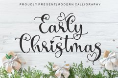 Early Christmas   Free 4 Lovely Font Product Image 2