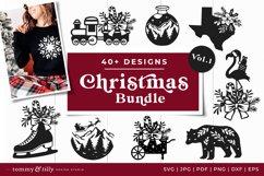 Vol.1 Christmas Bundle SVG Bundle Cut Files Product Image 1