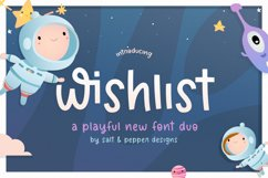 Wishlist Font Duo Product Image 1