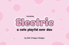 Electric Font Duo Product Image 1