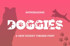 The Silhouette Font Bundle - Volume 01 Product Image 3