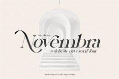 Novembra Serif Font Duo Product Image 1