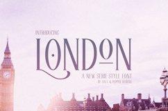 London Serif Font Product Image 1