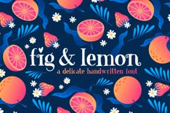 Fig & Lemon Font Duo Product Image 1