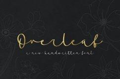 Overleaf Script Font Product Image 1