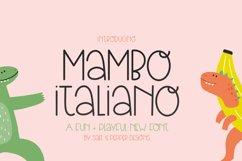Mambo Italian Font Product Image 1