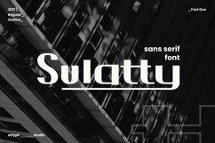 Sulatty - Sans Serif Font Product Image 1