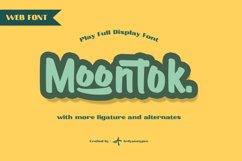 Moontok - Play Full Display Web Font Product Image 1