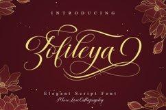 Zofileya Script Product Image 1