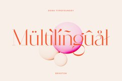 Braston - Elegant Serif Font Product Image 6