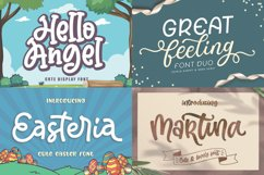 Cute and Friendly - Best seller Font Bundles Product Image 3