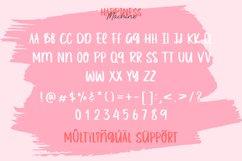 Web Font - Happiness Machine - Font Duo Product Image 3
