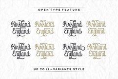 Byemalkan - Monoline Swirly Font - Two Styles Product Image 2