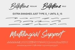 Billistone A Handwritten Font Product Image 4
