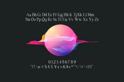 Billiers | Modern Ligature Typeface Product Image 4
