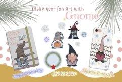 Fantastic Gnome 58 Element Brush Stamp Procreate. Brushes Product Image 5