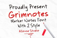 Grimnotes Product Image 1