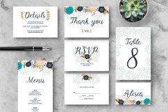Floral Wedding Invitation Suite Product Image 3