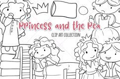 Princess and the Pea Story Book Stamps Product Image 1