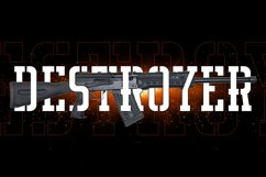 Deltory - Military Font Product Image 5