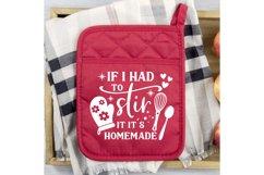 Pot Holder SVG Bundle, Kitchen SVG, Baking Svg, Baking Quote Product Image 6