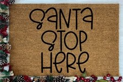 Web Font Cookies For Santa - A Quirky Hand-Lettered Font Product Image 2