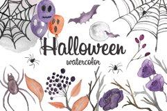 Halloween watercolor Product Image 1