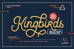 Kingbirds - 6 Styles Monoline Product Image 1