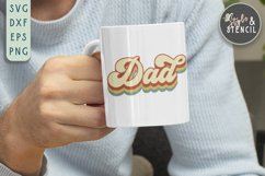 Dad SVG | Fathers Day | Retro Product Image 1