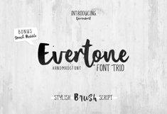 Evertone Font Trio Product Image 1