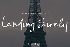 Landing Surely | Signature Font Product Image 1
