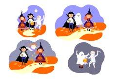 Halloween children in Halloween costume. Product Image 4