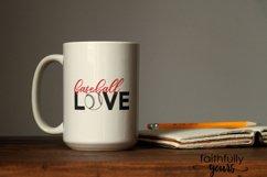 Baseball Love! baseball player fan svg Product Image 4