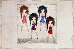 Michi 37 Attitude Fashion Clip Art Product Image 1