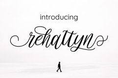 rehattyn | Bouncing Script Product Image 1