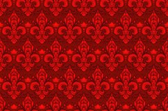 Seamlessly tiling fleur-de-lis pattern Product Image 1