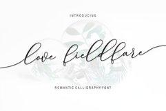 Love Fieldfare Script Product Image 1