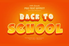 Back To School Text Effect Product Image 1