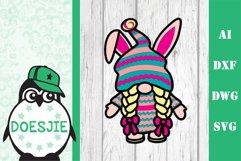 Layered Easter bundle 3d svg dxf Multi layer mandala easter Product Image 5